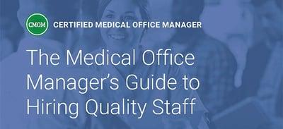 Hiring Quality Staff CMOM landing page