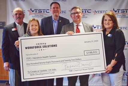 TSTC-Hendrick TWC Skills Development Funds Grant Photo-1