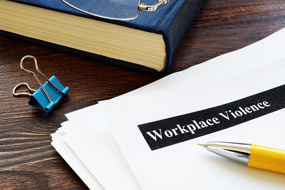 workplace violence prevention program